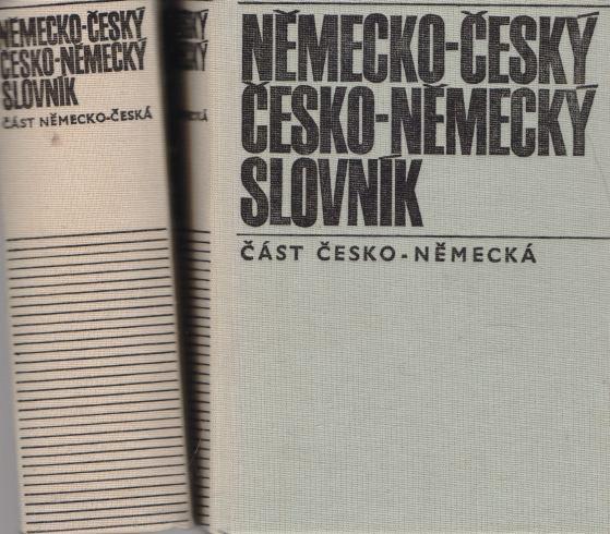 František Widimský - Česko-německý, Německo-český slovník