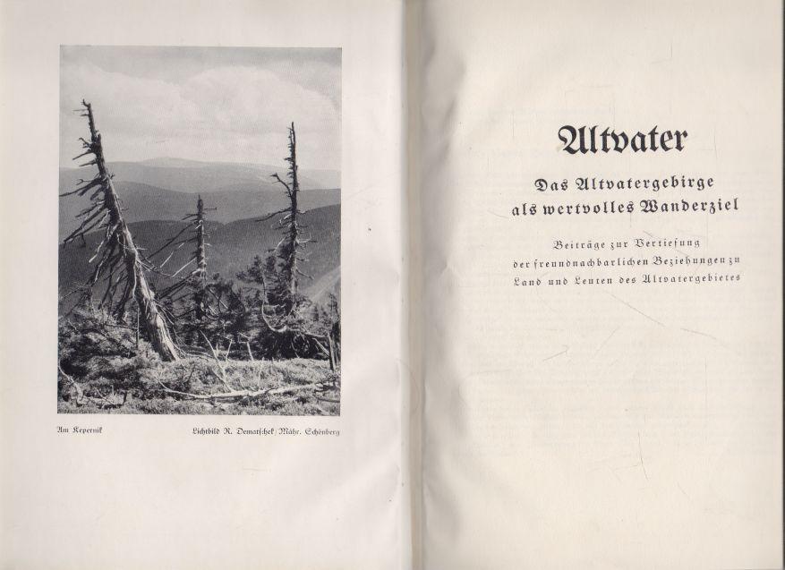 - Altvater. Das Altvatergebirge als wertvolles Wanderziel.