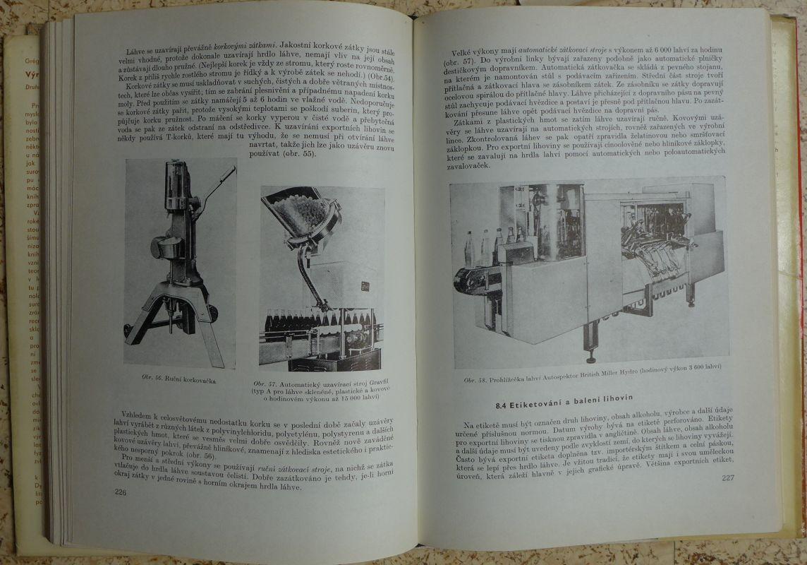 V. Grégr - Výroba lihovin