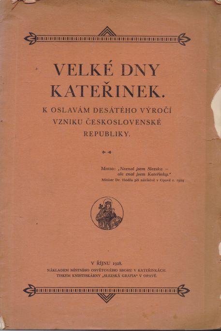 Matěj Valík - Velké dny Kateřinek