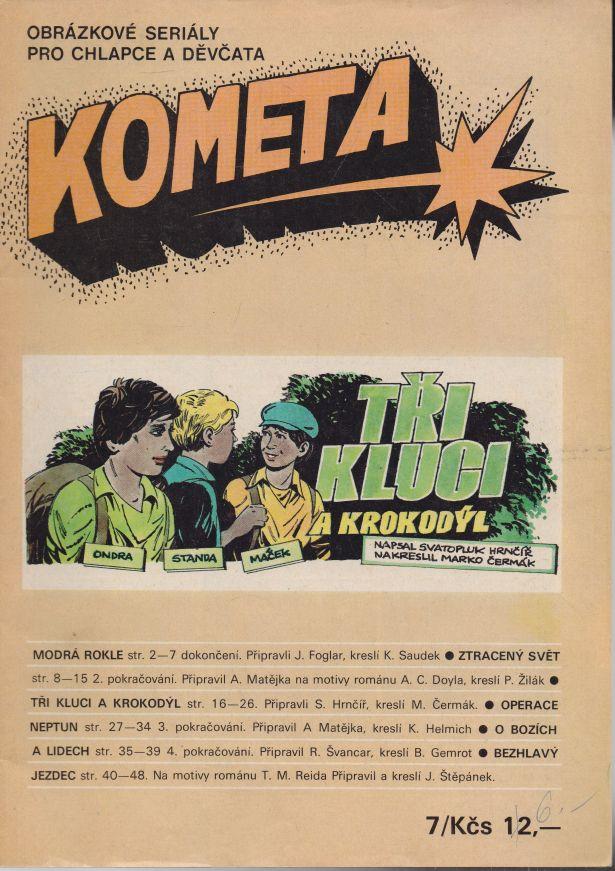 Foglar, Matějka, Švancar, Štěpánek - Kometa 7