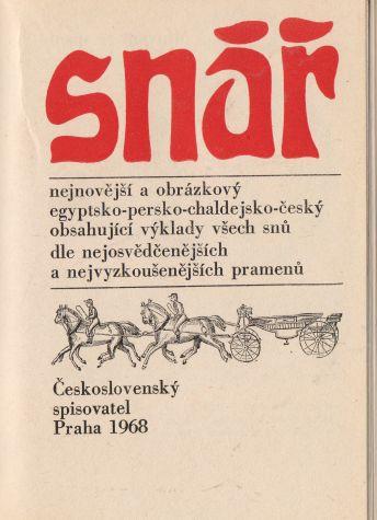 kolektiv autorů - Snář