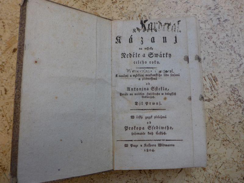 Steckel Antonin, Šedivý Prokop - Krátká Kázanj na wssecky Neděle a Swátky celého roku 1