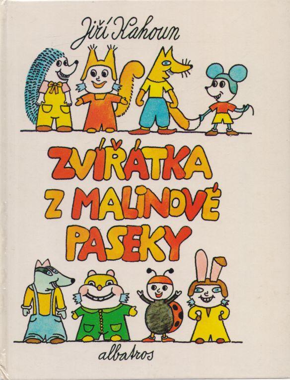 Jiří Kahoun - Zvířátka z malinové paseky