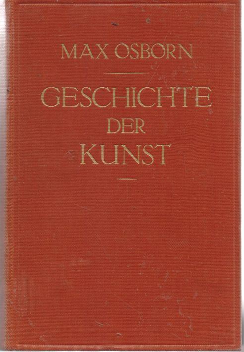 Max Osborn - Geschichte der Kunst