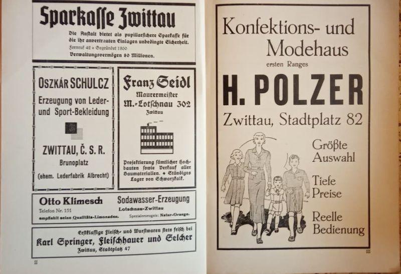 - Der politische Bezirk Mahrisch-Trubau. Gerichtsbezirke Mahrisch-Trubau, Zwittau und Gewitsch.