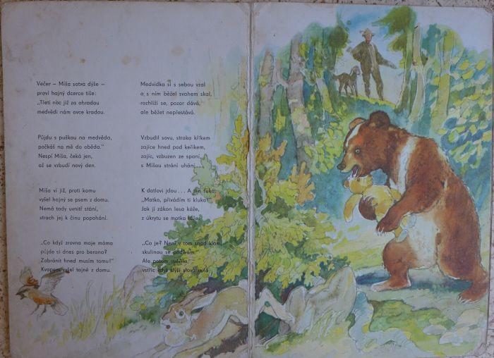 J. Zborovjan - Bajka, která málo slovy vypráví o medvíkovi