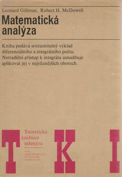 Leonard Gillman, Robert H. McDowell - Matematická analýza