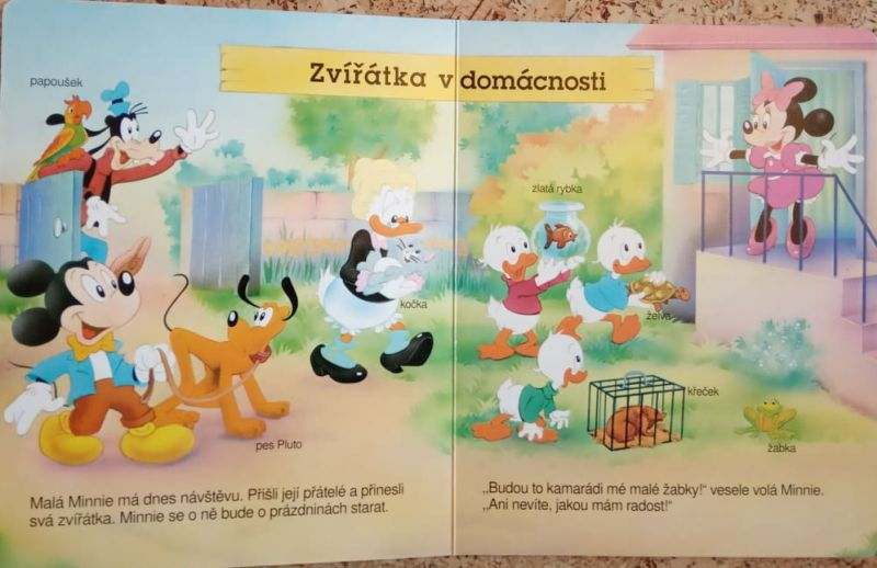 Walt Disney - Zvířátka doma