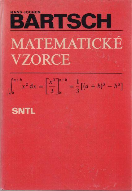 Hans-Jochen Bartsch - Matematické vzorce