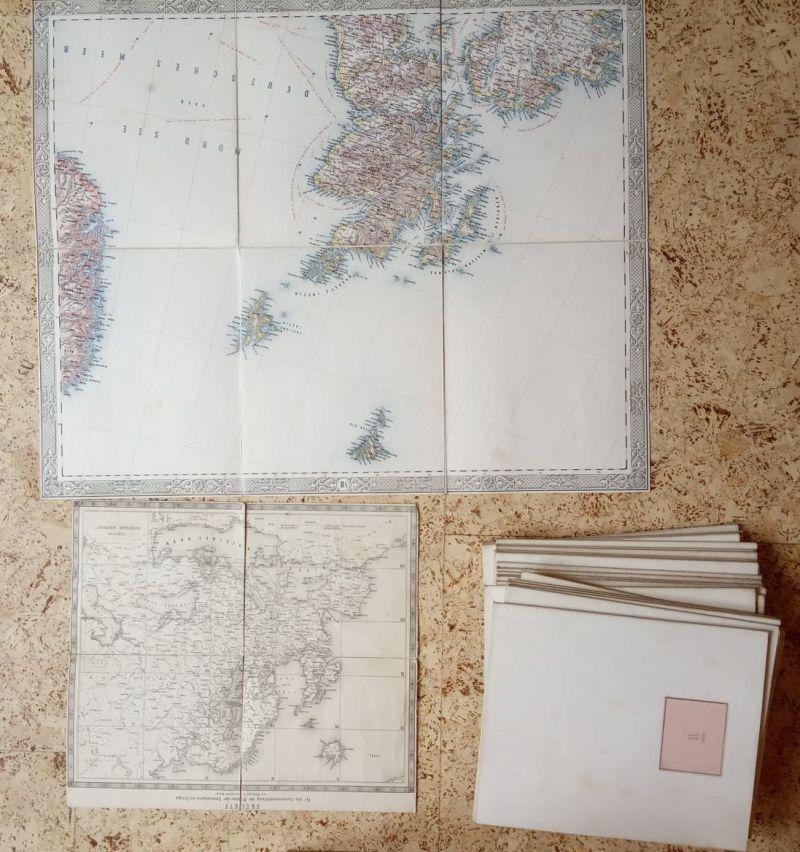 Joseph von Scheda - General-Karte von Europa