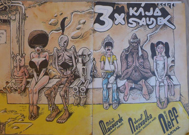 Macourek, Nesvadba, Neff - 3x Kája Saudek