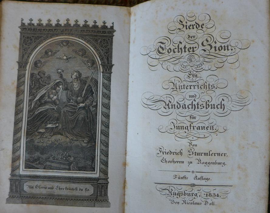 Friedrich Sturmlerner - Zierde der Tochter Sion